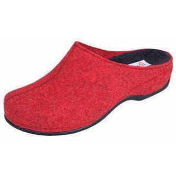Schuhe Damen Hausschuhe Berkemann Damen Hausschuh Rot