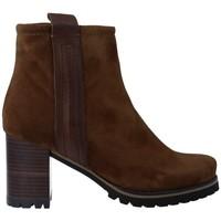 Schuhe Damen Low Boots Pedro Miralles 25841 Botines de Mujer Braun