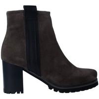 Schuhe Damen Low Boots Pedro Miralles 25841 Botines de Mujer Grau