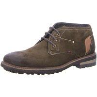 Schuhe Herren Stiefel Ara Halvar,G,dk.olive 27401-02 braun