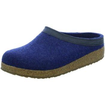 Schuhe Herren Hausschuhe Haflinger Grizzla Torben 713001-72 blau
