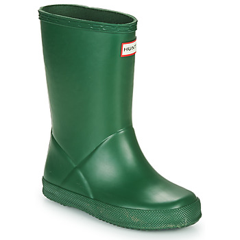 Schuhe Kinder Gummistiefel Hunter KIDS FIRST CLASSIC Grün