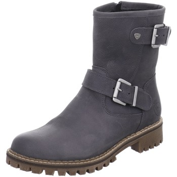 Schuhe Damen Stiefel Black Stiefeletten 264646-206 grau