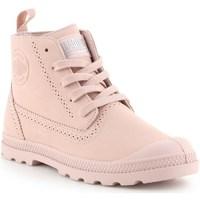 Schuhe Damen Boots Palladium Manufacture Pampa Ldn LP Rosa