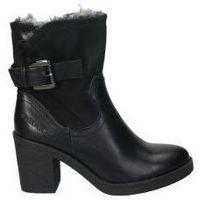 Schuhe Damen Low Boots Chika 10 MARLEN 09 Noir