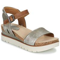 Schuhe Damen Sandalen / Sandaletten Josef Seibel CLEA 01 Silbern