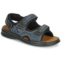 Schuhe Herren Sportliche Sandalen Josef Seibel FRANKLIN Blau