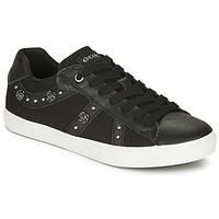 Schuhe Mädchen Sneaker Low Geox J KILWI GIRL Schwarz