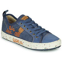 Schuhe Jungen Sneaker Low Geox J ALONISSO BOY Blau / Braun