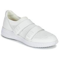Schuhe Damen Sneaker Low Geox D NOVAE Weiss