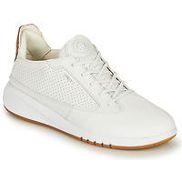 Schuhe Damen Sneaker Low Geox D AERANTIS Weiss