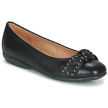 Schuhe Damen Ballerinas Geox D ANNYTAH Schwarz