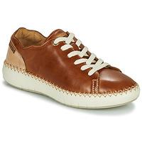 Schuhe Damen Sneaker Low Pikolinos MESINA W6B Braun / Beige