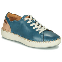 Schuhe Damen Sneaker Low Pikolinos MESINA W6B Blau / Rose