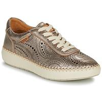 Schuhe Damen Sneaker Low Pikolinos MESINA W6B Silbern