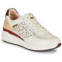 Schuhe Damen Sneaker Low Pikolinos SELLA W6Z Weiss / Bordeaux