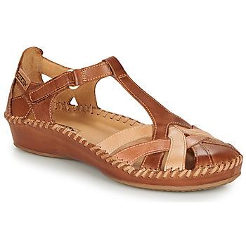 Schuhe Damen Ballerinas Pikolinos P. VALLARTA 655 Cognac / Camel