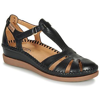 Schuhe Damen Ballerinas Pikolinos CADAQUES W8K Schwarz