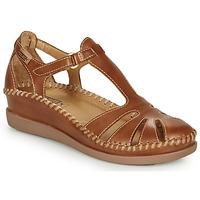 Schuhe Damen Ballerinas Pikolinos CADAQUES W8K Camel
