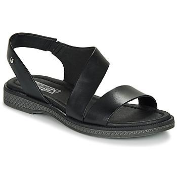 Schuhe Damen Sandalen / Sandaletten Pikolinos MORAIRA W4E Schwarz