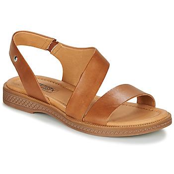 Schuhe Damen Sandalen / Sandaletten Pikolinos MORAIRA W4E Camel