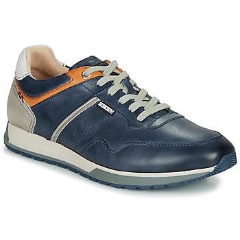 Schuhe Herren Sneaker Low Pikolinos CAMBIL M5N Cognac / Marine