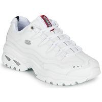 Schuhe Damen Sneaker Low Skechers ENERGY Weiss