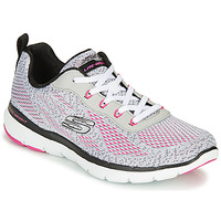 Schuhe Damen Fitness / Training Skechers FLEX APPEAL 3.0 Grau / Rose