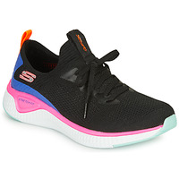 Schuhe Damen Fitness / Training Skechers SOLAR FUSE Schwarz / Rose / Blau