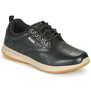 Schuhe Herren Sneaker Low Skechers DELSON ANTIGO Schwarz