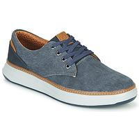 Schuhe Herren Sneaker Low Skechers MORENO EDERSON Blau / Braun