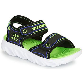 Schuhe Jungen Sportliche Sandalen Skechers HYPNO-SPLASH Blau / Grün