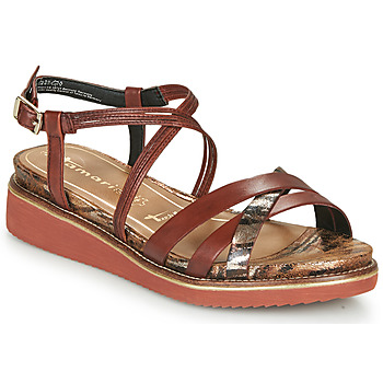 Schuhe Damen Sandalen / Sandaletten Tamaris EDA Braun