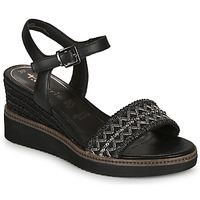 Schuhe Damen Sandalen / Sandaletten Tamaris ALIS Schwarz