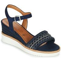 Schuhe Damen Sandalen / Sandaletten Tamaris ALIS Marine