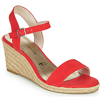 Schuhe Damen Sandalen / Sandaletten Tamaris LIVIA Rot
