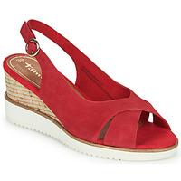 Schuhe Damen Sandalen / Sandaletten Tamaris ALIS Rot