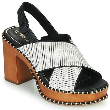 Schuhe Damen Sandalen / Sandaletten Tamaris CLAUDIE Weiss