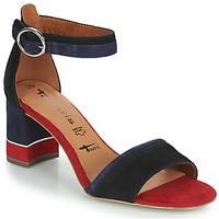 Schuhe Damen Sandalen / Sandaletten Tamaris DALINA Marine / Rot