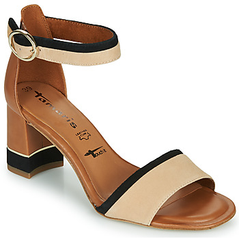 Schuhe Damen Sandalen / Sandaletten Tamaris DALINA Cognac