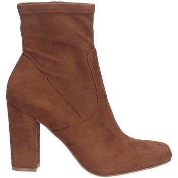 Schuhe Damen Low Boots Steve Madden SMSPATTIE-SBRWN Stiefeletten Frau braun braun