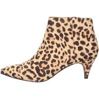 Schuhe Damen Ankle Boots Steve Madden SMSLUCINDA-LEO Stiefeletten Frau Leopard Leopard