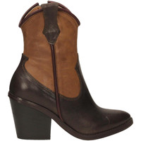 Schuhe Damen Low Boots Salvador Ribes ILARY 12 caffe-cacao
