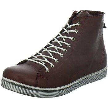 Schuhe Damen Stiefel Andrea Conti Stiefeletten 0341500 582 rot