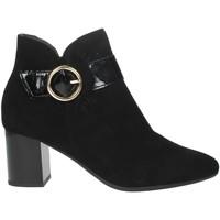 Schuhe Damen Ankle Boots Pitillos 5851 Schwarz