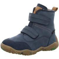 Schuhe Jungen Stiefel Vado Klettstiefel 12504 101 blau