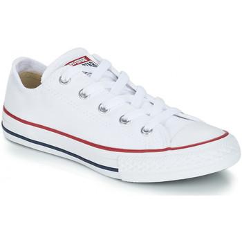 Schuhe Kinder Sneaker Low Converse CHUCK TAYLOR Blanc