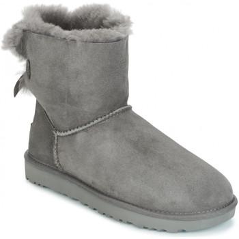 Schuhe Damen Schneestiefel UGG BAILEY BOW Gris