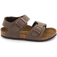 Schuhe Kinder Sandalen / Sandaletten Birkenstock NEW YORK Marron