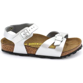 Schuhe Mädchen Sandalen / Sandaletten Birkenstock RIO Argent